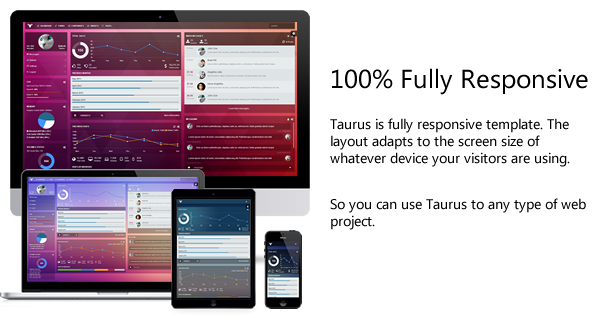 Taurus - Responsive Bootstrap 3.3.0 Admin Template