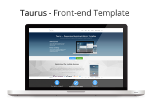Taurus - Responsive Bootstrap 3.3.0 Admin Template